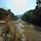 India Dehradun dried up river  by MrZebra