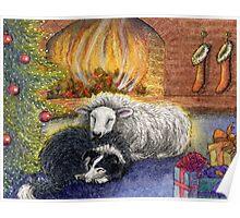 Merry Christmas to Ewe Poster