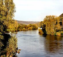 Autumn on the Wye by missmoneypenny