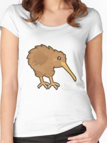 Kawaii Kiwi Women's Fitted Scoop T-Shirt