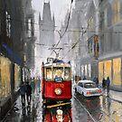 Prague Old Tram 07 by Yuriy Shevchuk