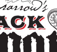 Sparrow's Black Spot Caribbean Rum Sticker