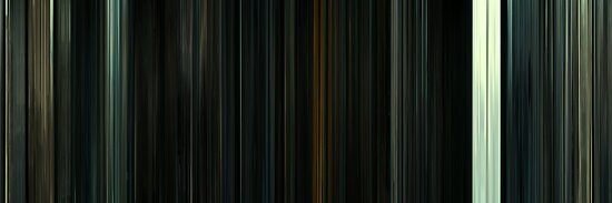 Moviebarcode: Harry Potter and the Deathly Hallows: Part 2 (2011) by moviebarcode