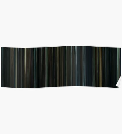 Moviebarcode: Harry Potter and the Deathly Hallows: Part 1 (2010) Poster