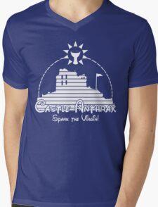 Castle Anthrax Mens V-Neck T-Shirt