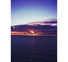 byron sunrise Photographic Print