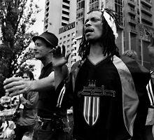 Occupy Melbourne 3 by Andrew  Makowiecki