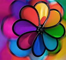 Colors Wheel, Wind Vane by Eyal Nahmias