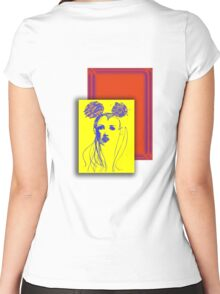 She's my mouse Women's Fitted Scoop T-Shirt