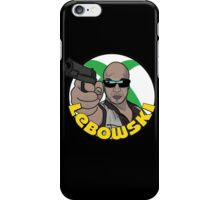 Blackie Lebowski iPhone Case/Skin