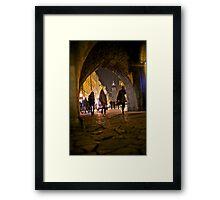 St. Florian's Gate . Brama Floriańska) in Kraków, Poland . of the best-known Polish Gothic towers, and a focal point of Kraków's Old Town. by Brown Sugar. Framed Print
