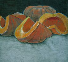 """Autumn squash"" by Richard Robinson"