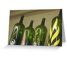 Bottles Greeting Card