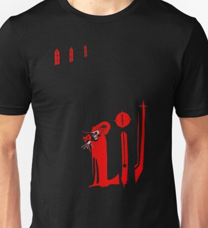 The Masque of the Red Death Unisex T-Shirt