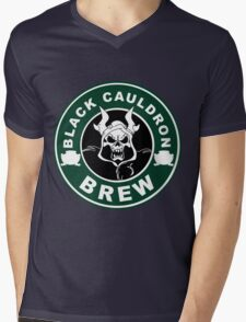 Black Cauldron Brew Mens V-Neck T-Shirt