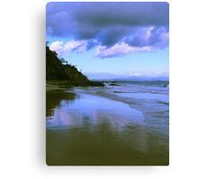 Morning tide Canvas Print