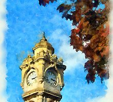 Exeter Clock Tower by buttonpresser