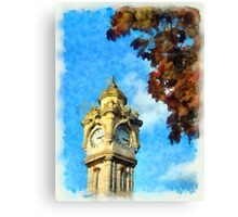 Exeter Clock Tower Canvas Print