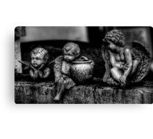 Three Cherubs -- Miami Cemetery Canvas Print