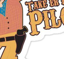 Duke Pilgrim Sticker