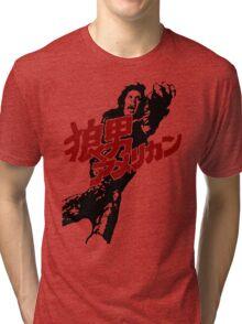 An American Werewolf in Tokyo Tri-blend T-Shirt