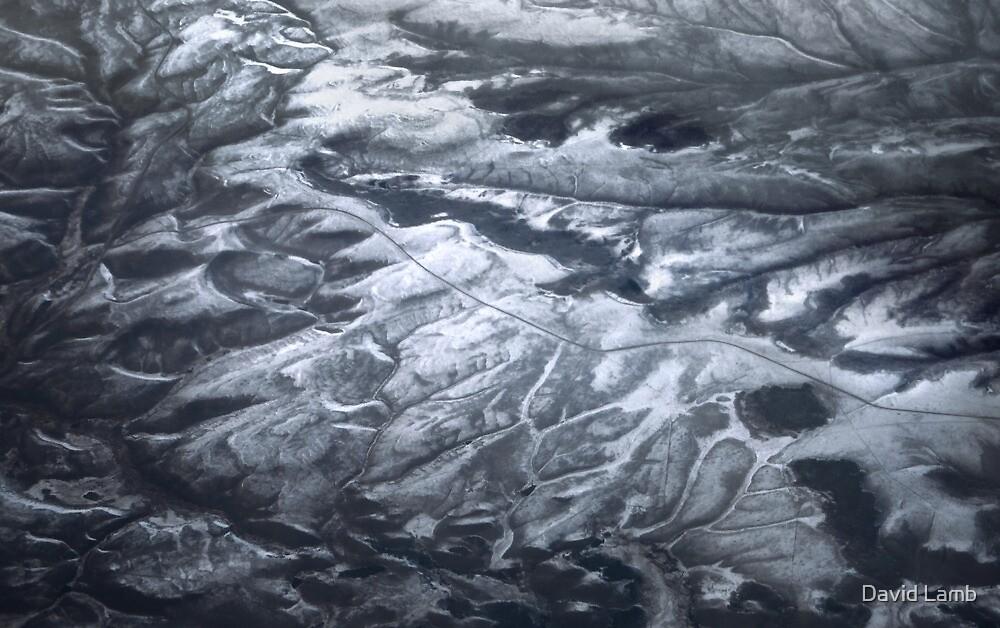 Mountain Abstract II by David Lamb
