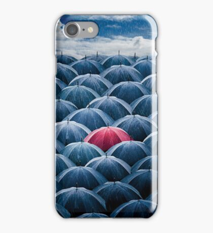 Stand Out in a Crowd iPhone Case/Skin