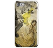 Field of Crows iPhone Case/Skin