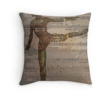 Dance of the Machines Throw Pillow