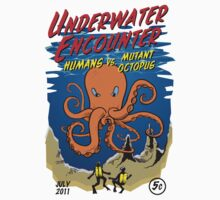 Mutant Octopus by Artur Pinheiro