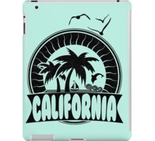 California The Golden State iPad Case/Skin
