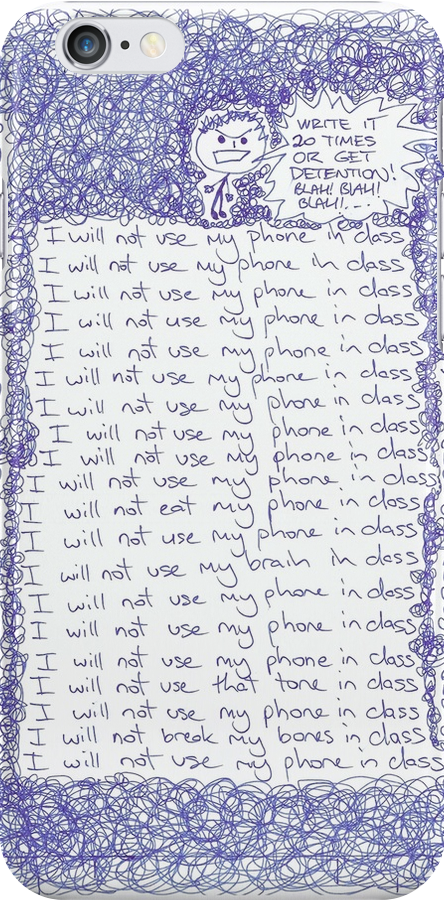 I will not use my phone... by understated