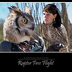 Raptor Free Flight by Angela Pritchard
