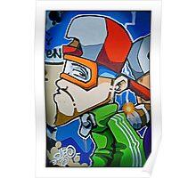 Street art by Cheo, 2009, Bristol Poster
