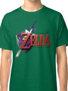 Legend Of Zelda Ocarina Of Time Classic T-Shirt