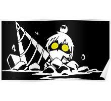 gurren lagann simon boota digger anime manga shirt Poster
