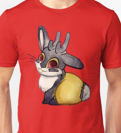 Jackalope Against Purple Unisex T-Shirt
