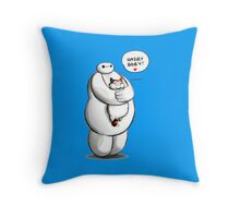 Baymax Hairy Baby Throw Pillow