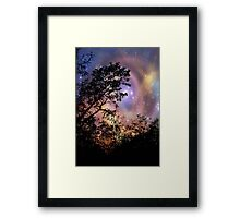 Evening comes!!! © Framed Print