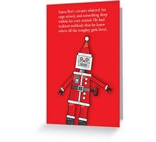 Santa Bot Greeting Card