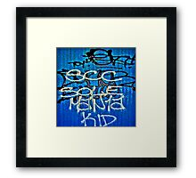 Graffiti #5a Framed Print