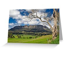 Rural Mount Roland Greeting Card