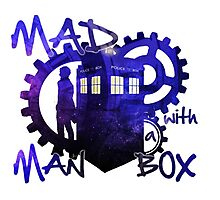 Dr Who - Mad Man with a Box Photographic Print