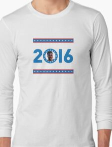 Goldie Wilson III for President 2016  Long Sleeve T-Shirt