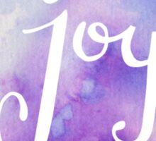 Watercolor Joy: Purple (can be modified) Sticker