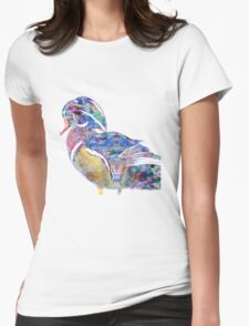 Wood Duck Womens Fitted T-Shirt