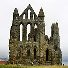 Whitby Abbey. by hans p olsen