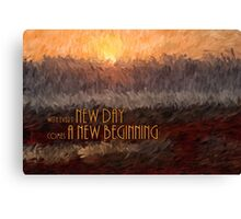 New Day Impressions Canvas Print