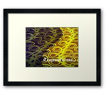 Congratulations... Framed Print