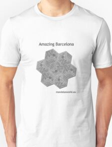 Modernist Gaudi Barcelona Tiles n3 T-Shirt